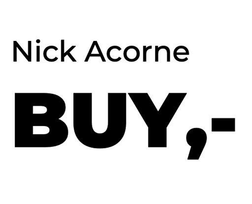 Nick Acorne: BUY,-